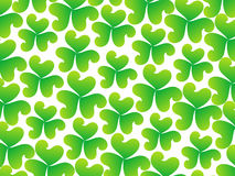 Abstract artistic st patrick pattern Stock Image