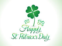 Abstract artistic st patricks background Royalty Free Stock Images