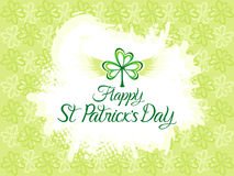 Abstract artistic st patricks grunge background Stock Photo