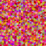 Abstract artistic triangle  mosaic  digital  painting background. Vector Stock Image