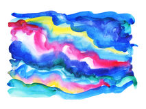 Abstract artistic watercolor background Stock Photos