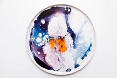 Abstract artistiek beeld van kleurrijke plons Royalty-vrije Stock Fotografie