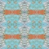 Abstract artistiek patroon met korte hand getrokken slagen Naadloze textuur in impressionismestijl voor Web, druk, stof, textiel, Stock Foto's