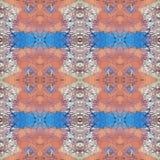 Abstract artistiek patroon met korte hand getrokken slagen Naadloze textuur in impressionismestijl voor Web, druk, stof, textiel, Royalty-vrije Stock Afbeeldingen