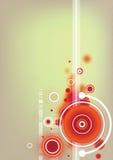 Abstract artistiek vectorbehang royalty-vrije illustratie