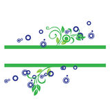 Abstract artwork. Simple decorative abstract artwork for background Stock Illustration