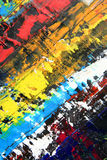 Abstract artwork as background. Oil on canvas Royalty Free Stock Image