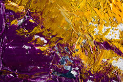 Abstract artwork background painting. Close-up view of an original abstract oil painting on canvas Royalty Free Stock Photos