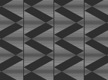 Abstract. Artwork floral design blend lines and dots with black gradation color, gray, grayish black form a beautiful square / triangle box line Stock Photography