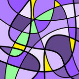 Abstract Artwork Purple Stock Photos