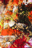 Abstract as background. Oil on canvas Royalty Free Stock Photography