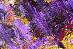 Abstract as background. Colorful vivid abstract as background, oil on canvas Royalty Free Stock Image