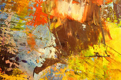 Abstract as background. Art is created and painted by photographer Royalty Free Stock Images
