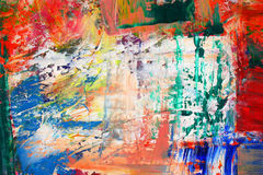 Abstract as background. Art is created and painted by photographer Royalty Free Stock Image