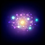 Abstract astronomy background. Illustration of abstract astronomy background royalty free illustration