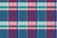 Abstract asymmetrical check plaid seamless pattern Royalty Free Stock Photo