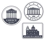 Abstract Athens Royalty Free Stock Images