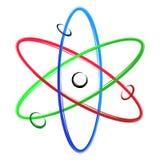 Abstract atom Stock Photo
