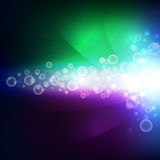 Abstract aura light universe, illustration background Stock Image