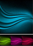 Abstract aurora backgrounds. Royalty Free Stock Photography