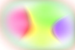 Abstract color glow effect. Abstract blurred glowing rainbow colours aurora effect for wallpaper template background Stock Image