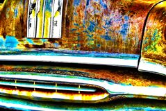 Abstract Automotive Background Royalty Free Stock Photos
