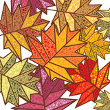 Abstract autumn background. Illustration Stock Illustration