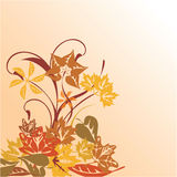 Abstract autumn background. Illustration Royalty Free Illustration