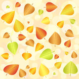 Abstract autumn background 2. Abstract autumn leaf background. Vector illustration Royalty Free Stock Photos