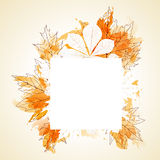 Abstract autumn background Royalty Free Stock Image