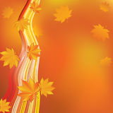 Abstract autumn background. Stock Photo