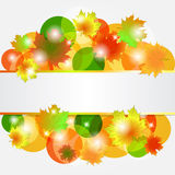 Abstract autumn background. Vector illustration. eps10 Royalty Free Illustration