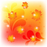 Abstract autumn background. Vector illustration. eps10 Royalty Free Stock Images