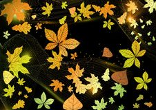 Abstract Autumn Background. Royalty-vrije Stock Foto