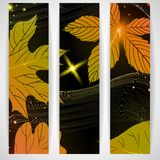 Abstract Autumn Background. Abstract Autumn Banner. Vector Illustration. Eps 10 Royalty Free Stock Photo