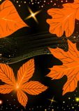 Abstract Autumn Background. Vector Illustration. Eps 10 Royalty Free Stock Images
