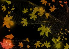 Abstract Autumn Background. Vector Illustration. Eps 10 Stock Images