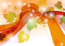 Abstract Autumn Background. Vector Illustration. Eps 10 vector illustration