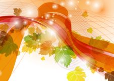Abstract Autumn Background. Vector Illustration. Eps 10 stock illustration