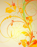 Abstract  autumn banner Stock Images
