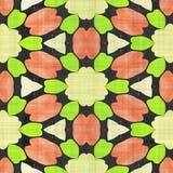 Abstract autumn decoration. Kaleidoscope. Sacred geometry- ornament mosaic. Mandala- artistic illustration Stock Image