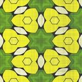 Abstract autumn decoration. Kaleidoscope. Sacred geometry- ornament mosaic. Mandala- artistic illustration Stock Photography