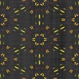Abstract autumn decoration. Kaleidoscope pattern. Sacred geometry- ornament mosaic. Mandala- artistic illustration Stock Photos