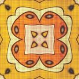Abstract autumn decoration. Kaleidoscope pattern. Sacred geometry- ornament mosaic. Mandala- artistic illustration Royalty Free Stock Photos