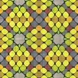 Abstract autumn decoration. Kaleidoscope. Sacred geometry- ornament mosaic. Mandala- artistic illustration Stock Photo