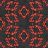Abstract autumn decoration. Kaleidoscope seamless. Sacred geometry- ornament mosaic. Mandala- artistic illustration Royalty Free Stock Photo