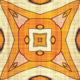 Abstract autumn decoration. Kaleidoscope seamless. Sacred geometry- ornament mosaic. Mandala- artistic illustration Royalty Free Stock Photos