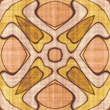 Abstract autumn decoration. Kaleidoscope seamless. Sacred geometry- ornament mosaic. Mandala- artistic illustration Stock Image