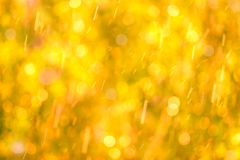 Abstract autumn defocused gold background Royalty Free Stock Image