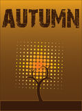 Abstract autumn free Stock Images